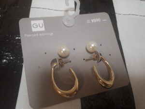 40代ファッション 上品 リッチ ゴールドアクセサリー プチプラ GU オススメ