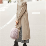 秋冬レイヤード・ワンピースやスカートの重ね着はロング丈MIX!