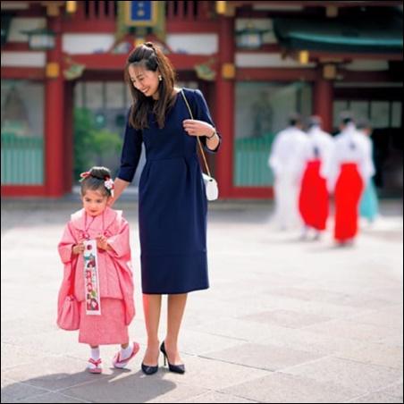 七五三 母親 ママ 服装 スーツ ワンピ-ス 普段使い 着回し 2WAY