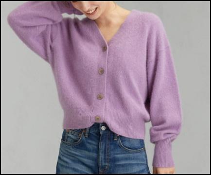 秋冬 くすみカラー ファッション トレンド ワンピース ニット オススメ