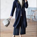2019・40代の冬コートはリバーシブル2WAYでキレイめスタイル
