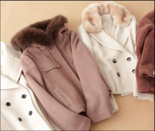 2019 冬 10-20代 ファーコート 彼から可愛いが聞ける デート服