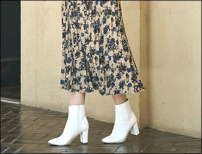 汚れる 嫌 白 ショートブーツ 真っ白に保つ ケア方法 簡単!