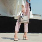 スーツ2【衣装】鈴木保奈美 靴とバッグでキメる!チカファッション。