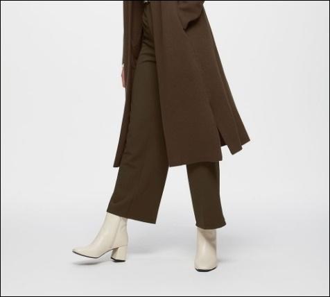 GU ブーツ 歩きやすい スクエアトゥ 2020トレンド 購入レビュー 感想