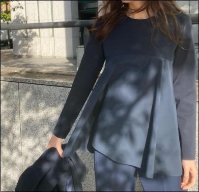卒園式 入学式 オケージョン ママ服装 ジャケット無し セットアップ。